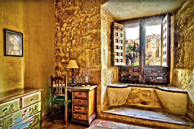 Estancia de la Casa Rural Palacio Conde de Garcinarro, Huete (Cuenca)